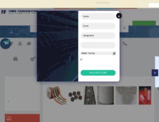 clothingaccessory.fibre2fashion.com screenshot