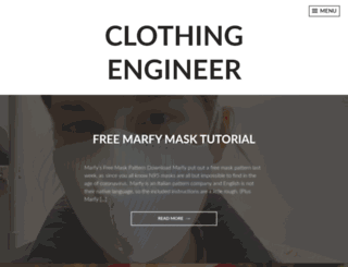 clothingengineer.com screenshot