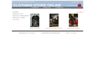 clothingstoreonline.com.au screenshot