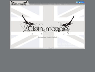clothmagpie.com screenshot