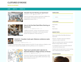 cloturesdiroise.com screenshot