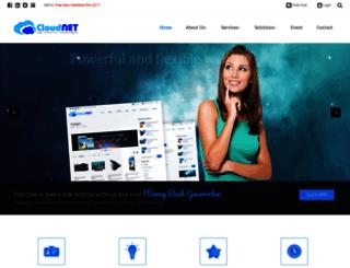 cloud--net.com screenshot