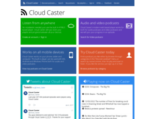 cloud-caster.com screenshot