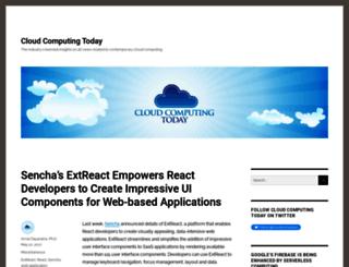 cloud-computing-today.com screenshot