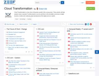 cloud-transformation.zeef.com screenshot