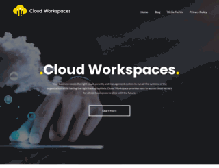 cloud-workspaces.com screenshot