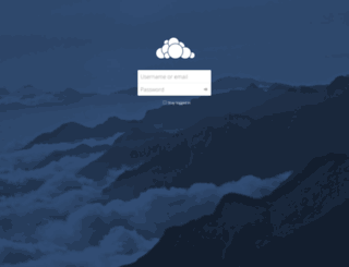 cloud.andreuworld.com screenshot