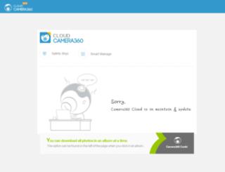 cloud.camera360.com screenshot