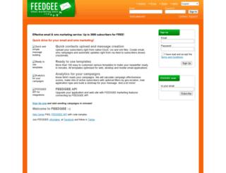 cloud.feedgee.com screenshot