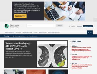 cloud.governmentcomputing.com screenshot