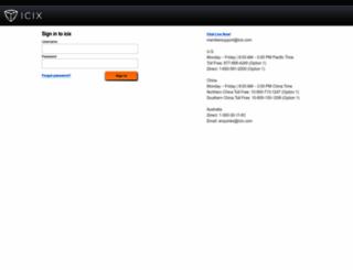 cloud.icix.com screenshot