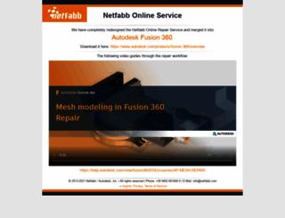 cloud.netfabb.com screenshot