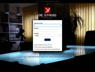 cloud.studiodestasio.it screenshot