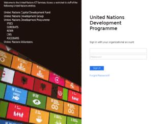 cloud.undp.org screenshot