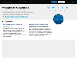 cloud4files.com screenshot