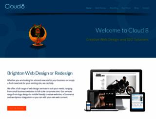 cloud8.co.uk screenshot