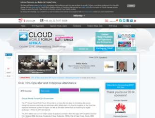 cloudafricasummit.com screenshot