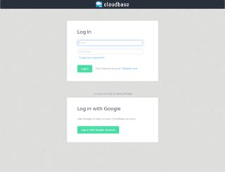 cloudbaseapp.com screenshot