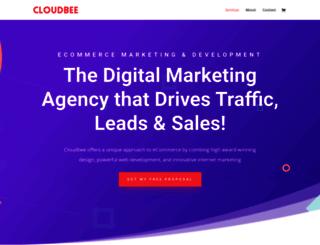 cloudbee.com screenshot