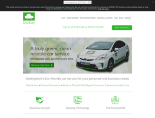 cloudcarsltd.com screenshot