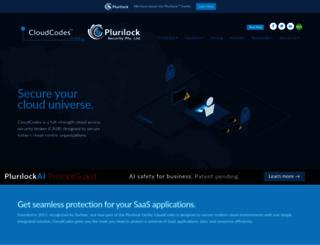 cloudcodes.com screenshot