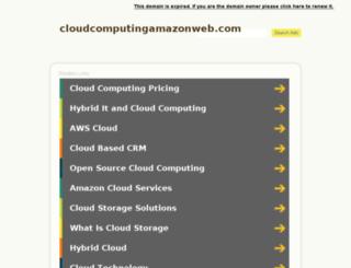 cloudcomputingamazonweb.com screenshot