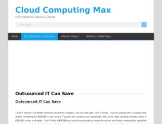 cloudcomputingmax.com screenshot
