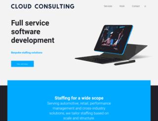 cloudconsulting.no screenshot