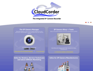 cloudcorder.de screenshot