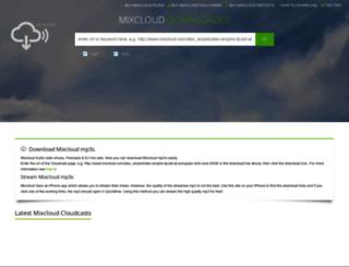 clouddownload.co.uk screenshot