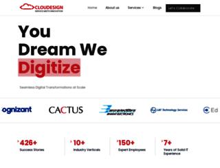 cloudesign.com screenshot