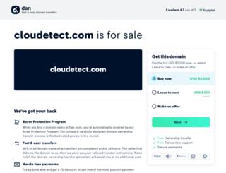 cloudetect.com screenshot