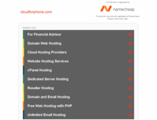 cloudforphone.com screenshot
