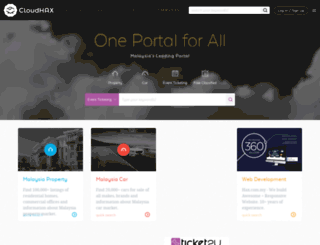 cloudhax.com screenshot