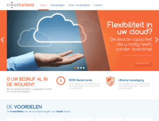 cloudholland.nl screenshot