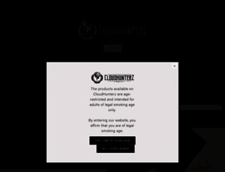 cloudhunterz.com screenshot