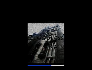 cloudlessrain.net screenshot
