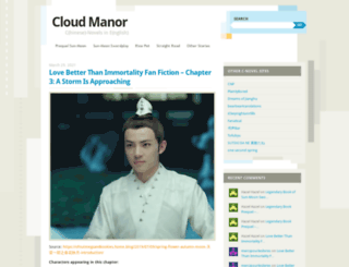 cloudmanor.wordpress.com screenshot