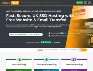 cloudnext.co.uk screenshot