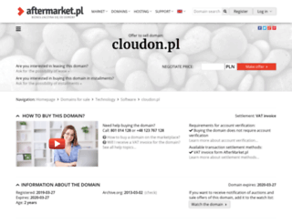 cloudon.pl screenshot
