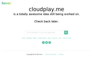 cloudplay.me screenshot