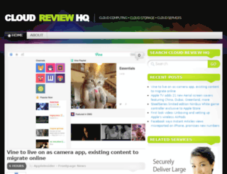 cloudreviewhq.com screenshot
