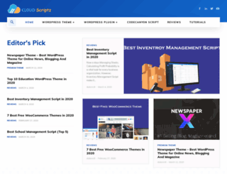 cloudscriptz.com screenshot