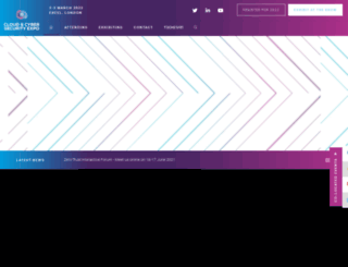 cloudsecurityexpo.com screenshot