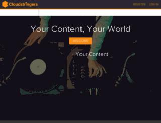 cloudstringers.com screenshot