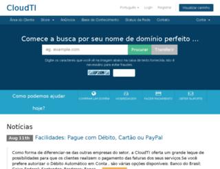 cloudti.net screenshot