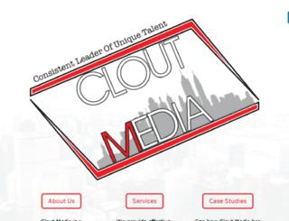 cloutmedia.biz screenshot