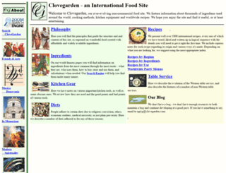 clovegarden.com screenshot