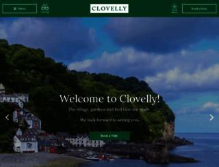 clovelly.co.uk screenshot