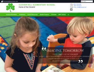 cloverhilles.mychesterfieldschools.com screenshot